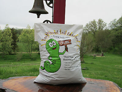 Organic worm castings, 15 lbs. Natures odorless soil enhancer for all plants.