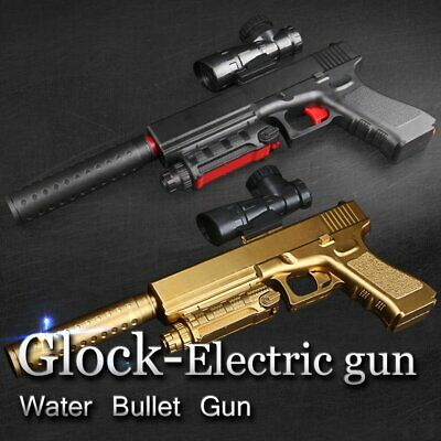 Electric Pistol Toy Water Gel Ball Pistol Bullet Crystal Blaster Gun Toy DIY