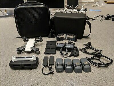 DJI Spark drone With LOTS of Extras, Batteries, Cases etc