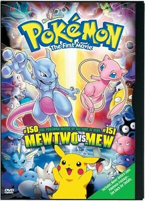 Pokemon The Movie 1: Mewtwo Strikes Back (2016, DVD New)