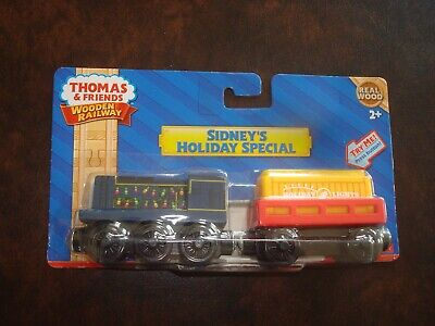 Sidneys Holiday Special Sidney/'s Holiday Special Fisher Price Y9274 Fisher-Price Thomas /& Friends Wooden Railway