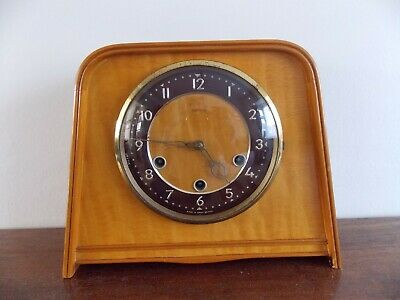 Smiths Westminster chime manel clock, circa 1960.