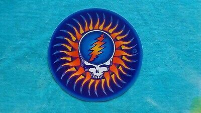 Grateful Dead Steal Your Face Sun 3 Inch Sticker