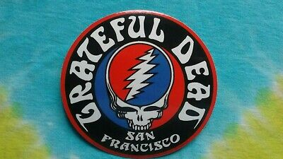 Grateful Dead Steal Your Face San Francisco 4.5 Inch Sticker
