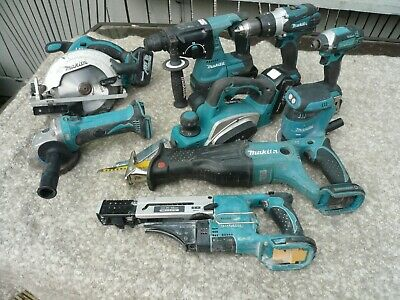 Makita Lxt 9 Piece Set With Batteries And Twin Charger