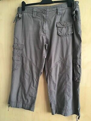 Red herring maternity cargo trousers size 16