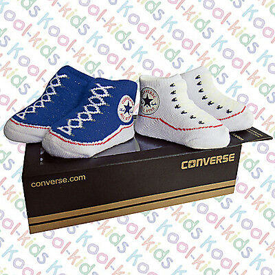 4add6a89d671 CONVERSE BABY BOOTIE Socks Gift Box - Chuck Pink   White - 2 Pack ...