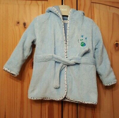 boys dressing gown age 6-12 months
