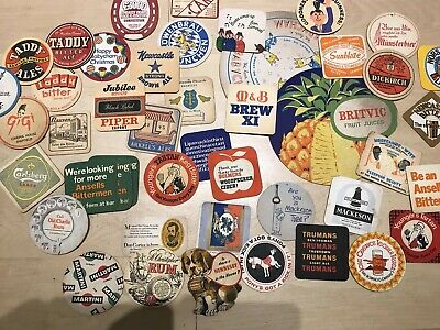 Beer Mat Collection - Vintage , Over 700 !!