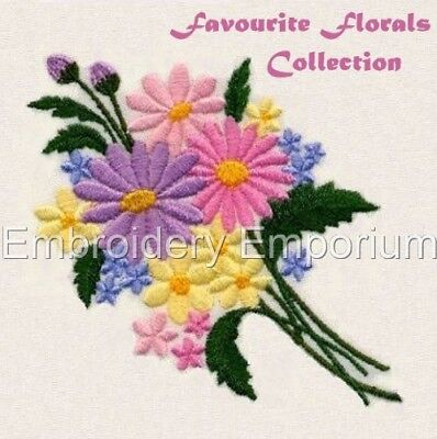 Favourite Florals Collection - Machine Embroidery Designs On Cd Or Usb