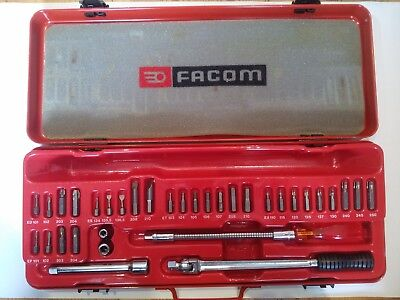 "Facom J.426M 3/8"" Screwdriver Bit Set"