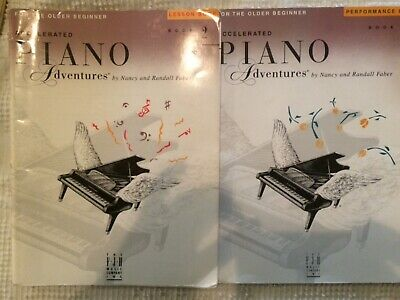 2 Accelerated PIANO Adventures OLDER BEGINNER Lesson 2 & Performance Books