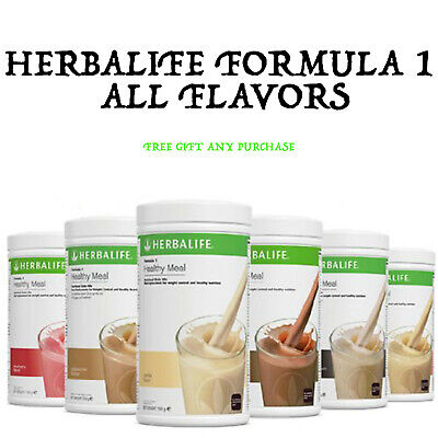 Herbalife Formula 1 Healthy Meal Shake All Flavors!   Cup for Shakes