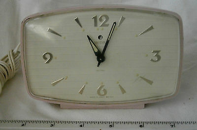 Gorgeous Smiths Sectric electric bedside alarm clock, 1950's, 1960's