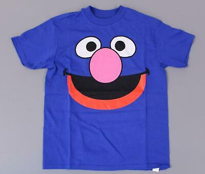 Short Sleeve Blue Boys Sesame Street Group Band T-Shirt