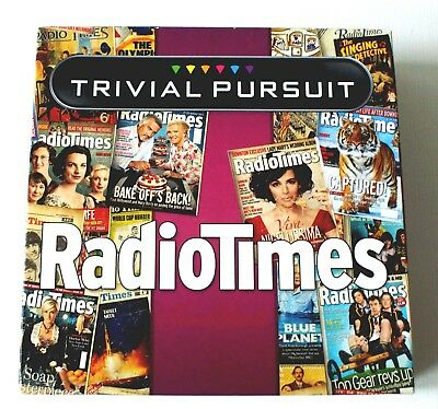 TRIVIAL PURSUIT RADIO TIMES EDITION by WINNING MOVES