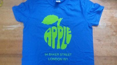 Apple Boutique T Shirt-the Beatles-london-1960s-apple-lennon-hippie-psych-60's