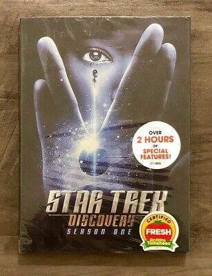 Star Trek Discovery Complete First Season 4-Disc Set Brand New Free Shipping