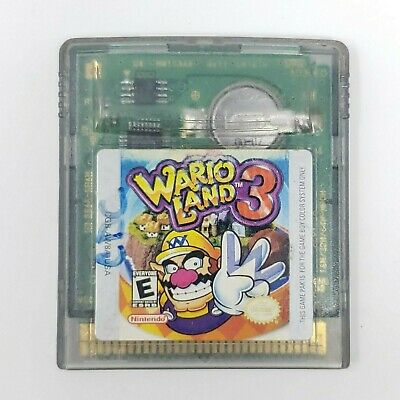 Wario Land 3 (Nintendo Game Boy Color, 2000) Tested/Working - GBC GBA CART only