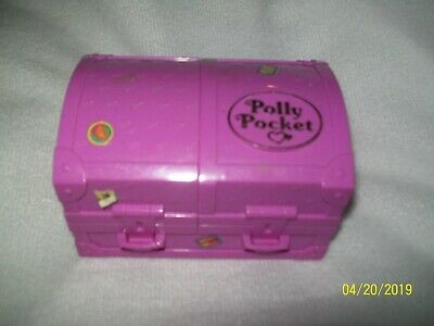 1996 Polly Pocket Surf n Swim Plaset Bluebird Compact Only