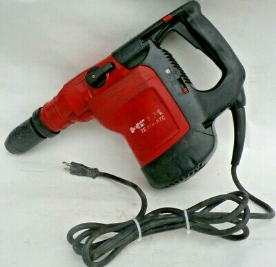 Hilti TE 76P-ATC Hammer Drill Chipping Hammer 13.9 AMP Two Speed SDS MAX Tested
