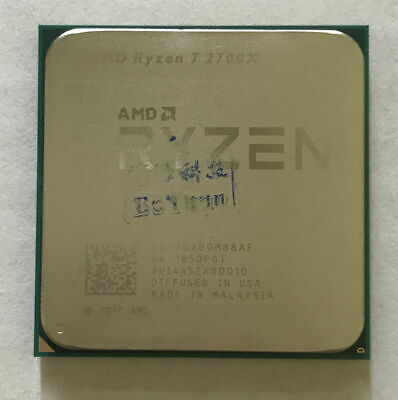 AMD Ryzen 7 2700X 3.7GHz 8-Core Processor Socket AM4 CPU Unlocked 105W