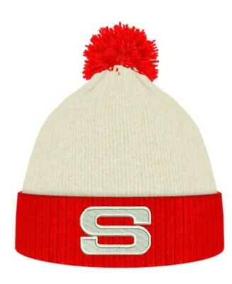St Helens Saints Salford Sunderland Sale rugby football S Retro beanie Red/white