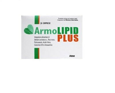 Armolipid Plus Integratore alimentare 20 compresse