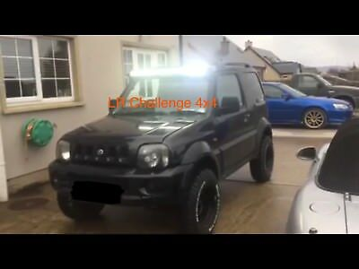 Suzuki Jimny LED Light Bar brackets only to fit 42'' curved light bar
