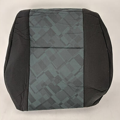 GENUINE Opel Vauxhall Astra G Mk4 Front Green/Black Seat Cover GM 90456443