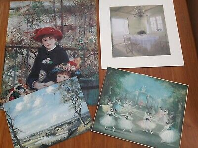 Vintage old collection Job lot of Prints various.