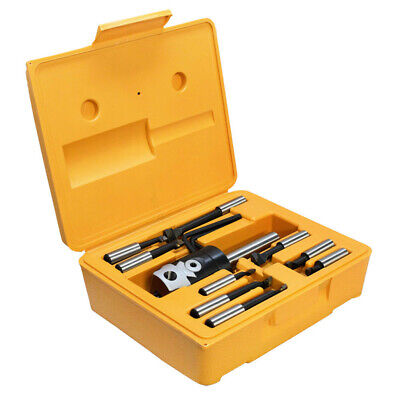 2 inch Boring Head With Straight Shank and Set of 9 Pcs of 1/2 inch Boring Bar