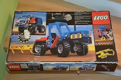 Lego Technic 8859 1 Tractor Van 100 Complete Boxed With