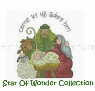 Star Of Wonder Collection - Machine Embroidery Designs On Cd Or Usb