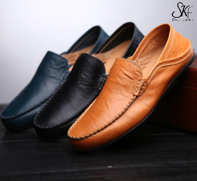mocassin cuir homme