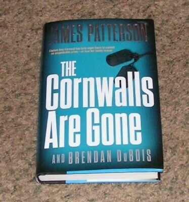 ✔ NEW The Cornwalls Are Gone by James Patterson (2019, Hardcover +jacket)