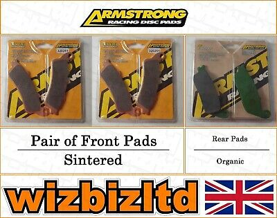 Armstrong Complete Brake Pad Kit Victory Vision Street 2008-09 BK113165