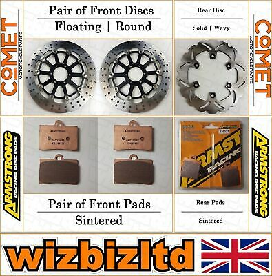 Armstrong and Comet Complete Brake Kit Ducati 900 Supersport 1989-90 BK220211