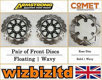 Armstrong and Comet Complete Brake Disc Kit Yamaha YZF 750 R/SP 1993-97 BK123755
