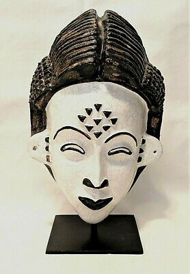 African Tribal Mask ~ Italian Clay Made by N Dolfi  for Neiman Marcus