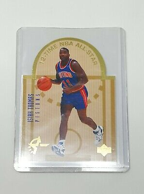 e472328caec0a5 1993 94 Upper Deck SE ISIAH THOMAS  E6 Detroit Pistons DIE CUT All Stars