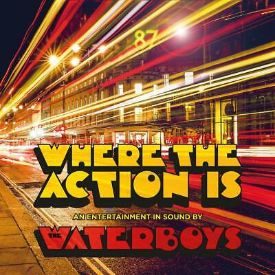 The Waterboys - Where The Action Is 2 x CD ALBUM NEW (23RD MAY)