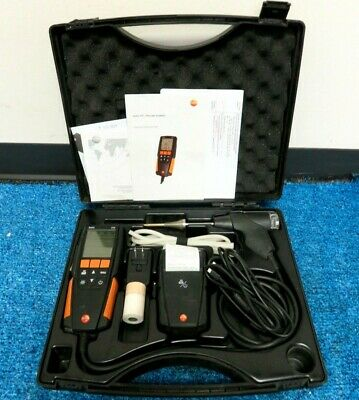 Testo 310 Combustion Analyzer w/ Printer and charger