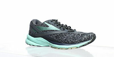 901cd05acc2 Brooks Womens Launch 4 Anthracite Beach Glass Silver Running Shoes Size 6.5