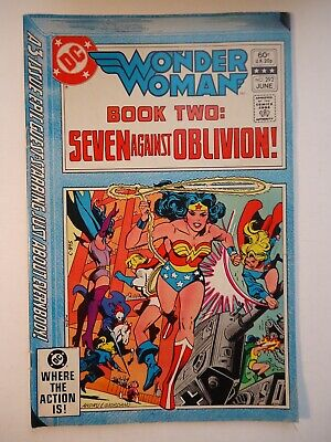 WONDER WOMAN #292 DC Comics 1982 Fn -/ Colan art /Black Canary, Supergirl appear