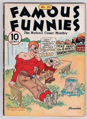 Famous Funnies # 28 (1936) Eastern Color, 1934 Series (FN/VF)