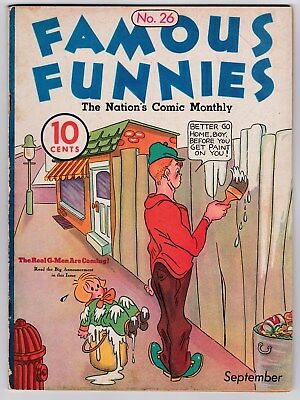 Famous Funnies # 26 (1936) Eastern Color, 1934 Series (VF-)