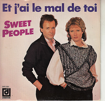45Trs Vinyl 7''/ French Sp Sweet People / Et J'ai Le Mal De Toi / Alain Morisod