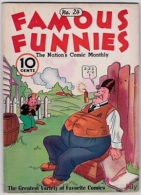 Famous Funnies # 24 (1936) Eastern Color, 1934 Series (FN)