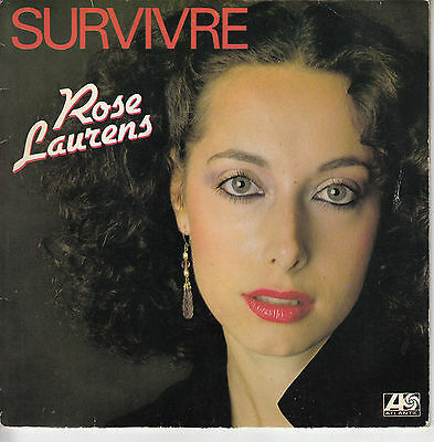 45Trs Vinyl 7''/ Rare French Sp Rose Laurens / Survivre